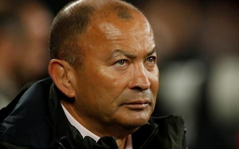 <span>Eddie Jones, the England head coach, has some big decisions to make ahead of next weekend's Test</span> <span>Credit:  REUTERS </span>
