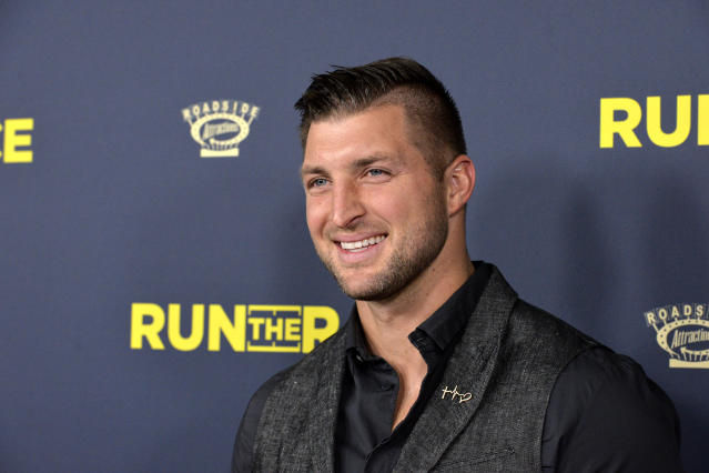 Tim Tebow is fully committed to baseball and turned down a chance to play football again. (Getty Images)