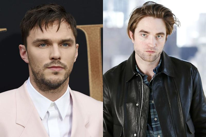 Nicholas Hoult and Robert Pattinson (Credit: AP)