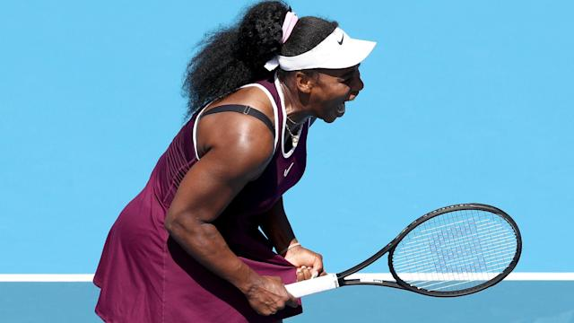 Ash Barty shuffered a shock loss in Brisbane but Serena Williams and Naomi Osaka overcame scares ahead of the Australian Open.