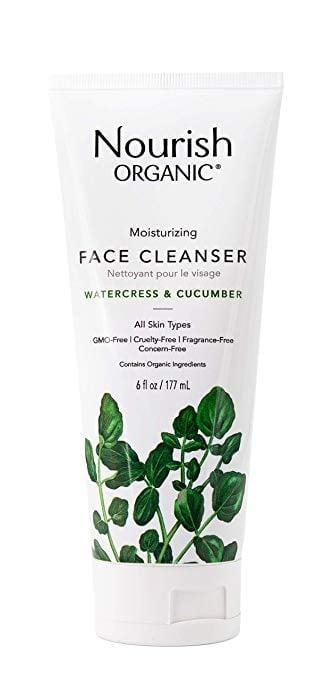 <p>The refreshing <span>Nourish Organic Moisturizing Face Cleanser, Watercress &amp; Cucumber</span> ($11) is ideal for sensitive and dry skin and includes soothing aloe vera. </p>