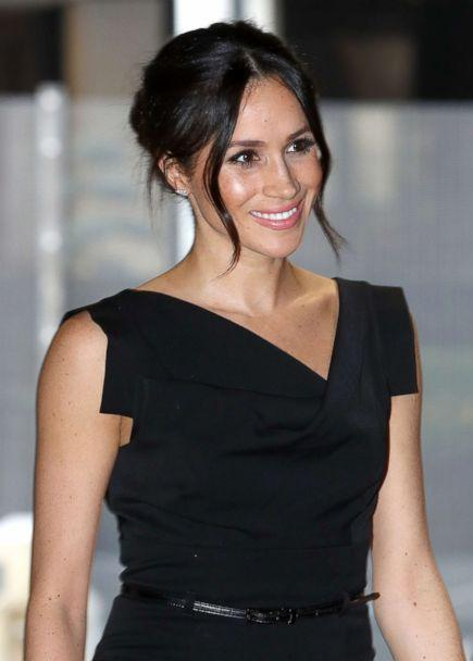 PHOTO: Meghan Markle attends the Women's Empowerment reception at the Royal Aeronautical Society, April 19, 2018, in London. (Chris Jackson/Getty Images)