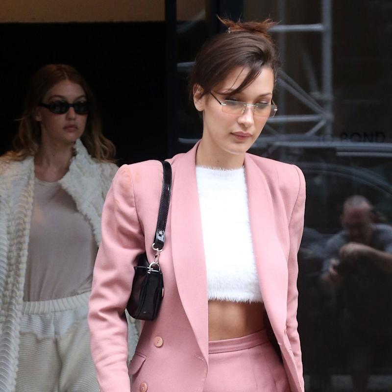 7ae5cb9d72 Bella Hadid Rules the Street in Alexander Wang s  35 Claw Clip