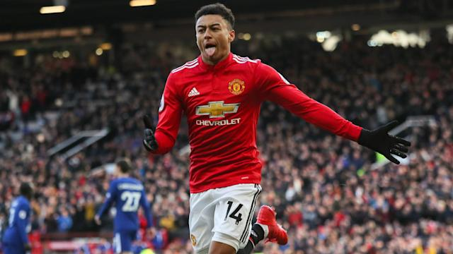 Manchester United moved back into second in the Premier League after coming from behind to beat champions Chelsea.