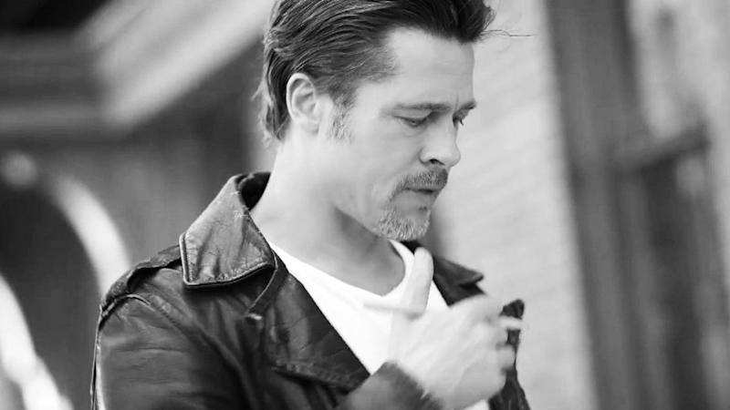 Brad Pitt Styled by Jennifer Aniston's Stylist Pals in Smoldering New Campaign