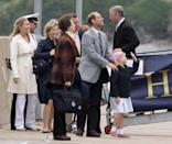 <p>During a celebration for Prince Andrew's 50th birthday and Prince Anne's 60th birthday, members of the royal family gathered on the Hebridean Princess boat in Scotland for a two-week cruise hosted by the Queen. In addition to the birthday celebrants, Prince Edward, his wife Sophie, Countess of Wessex, their children Lady Louise Windsor and James, Viscount Severn, were included.</p>