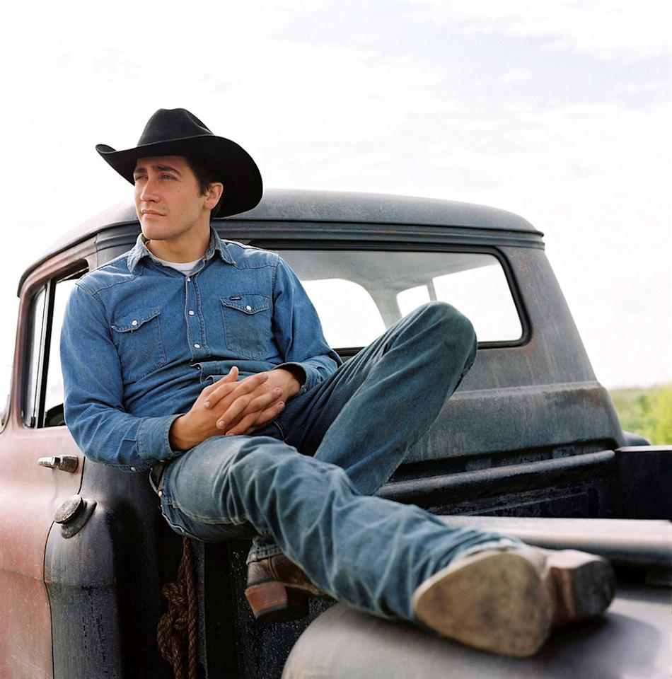 "<a href=""http://movies.yahoo.com/movie/1808403312/info"">BROKEBACK MOUNTAIN</a> (2005)    In ""The Day After Tomorrow"", Gyllenhaal played a teenaged hero. The following year, he started playing more rugged, manly, and mature roles starting with this movie, one of the most iconic and controversial films of the decade. And for his efforts, Jake nabbed an Oscar nomination."