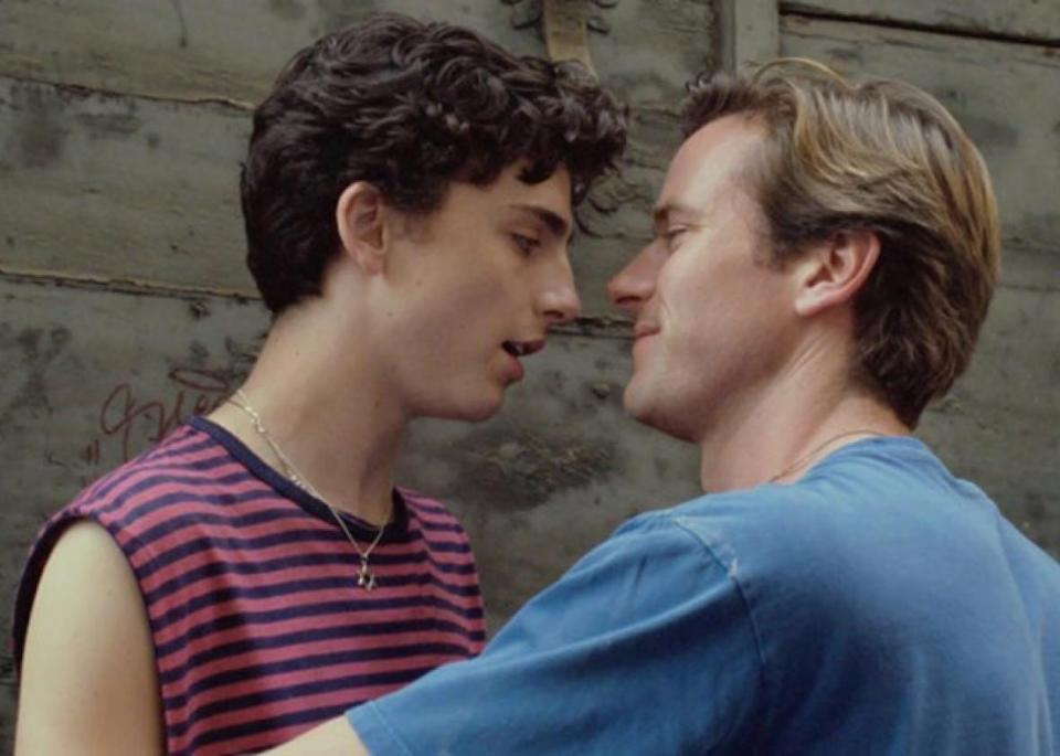 <p><strong><em>Call Me By Your Name</em>(2017)</strong></p><p>Timothée Chalamet gives an Oscar-nominated performance as a young man who falls in love with an older American visitor (Armie Hammer) who's staying with his family in Italy for the summer. Supremely touching stuff.</p><p>Available 26th September</p>