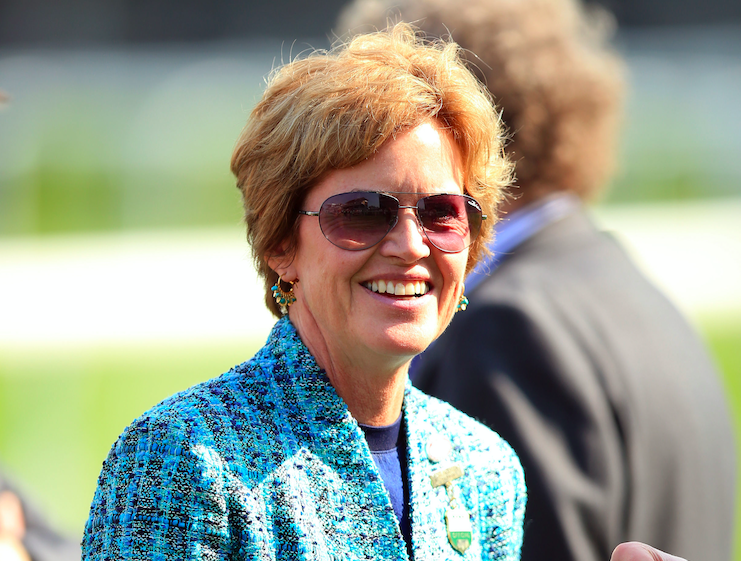 Rose Paterson was the chairman of Aintree Racecourse. (PA)