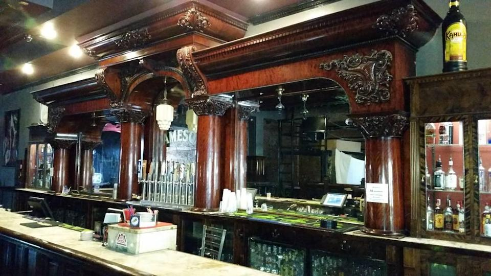 The bar planned to be part of the future Tiner Alley gastropub has been in Boise for more than a century.