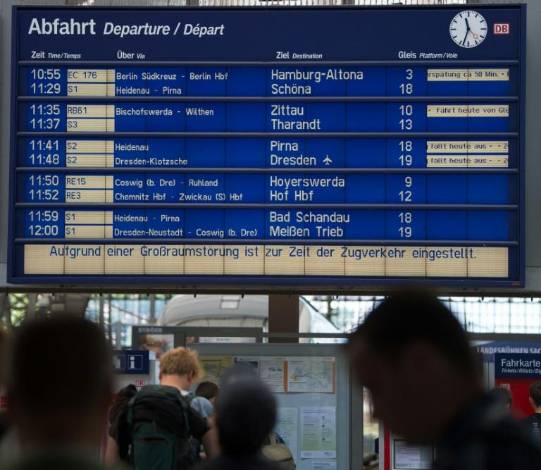 Germany investigates railway arson attacks ahead of G-20