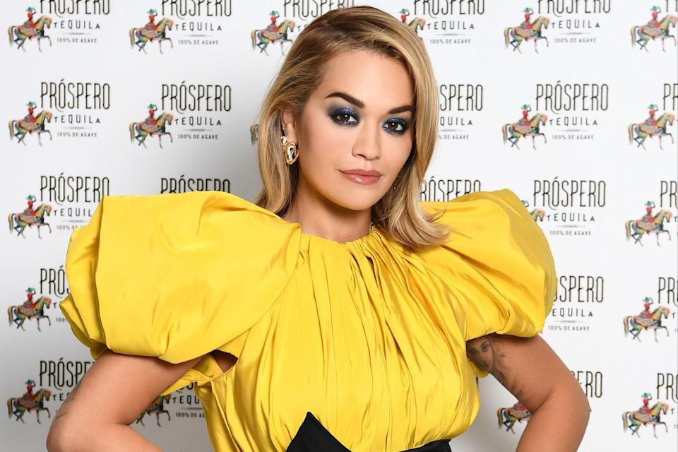 <p>Rita Ora </p> (Getty Images for ABA)