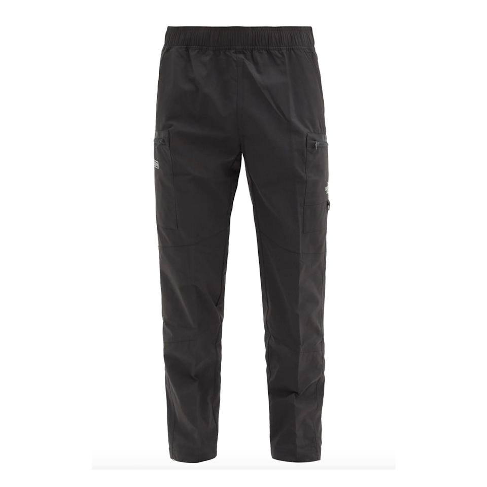 """<p><strong>The North Face</strong></p><p>matchesfashion.com</p><p><strong>$155.00</strong></p><p><a href=""""https://go.redirectingat.com?id=74968X1596630&url=https%3A%2F%2Fwww.matchesfashion.com%2Fus%2Fproducts%2F1363607&sref=https%3A%2F%2Fwww.esquire.com%2Fstyle%2Fmens-fashion%2Fg34645350%2Fbest-performance-pants-men%2F"""" rel=""""nofollow noopener"""" target=""""_blank"""" data-ylk=""""slk:Buy"""" class=""""link rapid-noclick-resp"""">Buy</a></p>"""