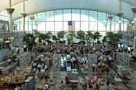 """<p>The Illuminati leads to a conspiracy rabbit hole that we're not going to delve too far into—except when it comes to the Denver International Airport. Many Illuminati believers are convinced it's the secret group's headquarters. The airport has <a href=""""https://www.popularmechanics.com/adventure/a32597000/denver-airport-conspiracies-illuminati/"""" rel=""""nofollow noopener"""" target=""""_blank"""" data-ylk=""""slk:embraced the rumors"""" class=""""link rapid-noclick-resp"""">embraced the rumors</a> by poking fun at it, but that hasn't stopped people from <a href=""""https://www.popularmechanics.com/culture/g29365567/conspiracy-theories/?"""" rel=""""nofollow noopener"""" target=""""_blank"""" data-ylk=""""slk:believing secret tunnels and lizard lairs"""" class=""""link rapid-noclick-resp"""">believing secret tunnels and lizard lairs</a> lurk beneath the building. </p>"""