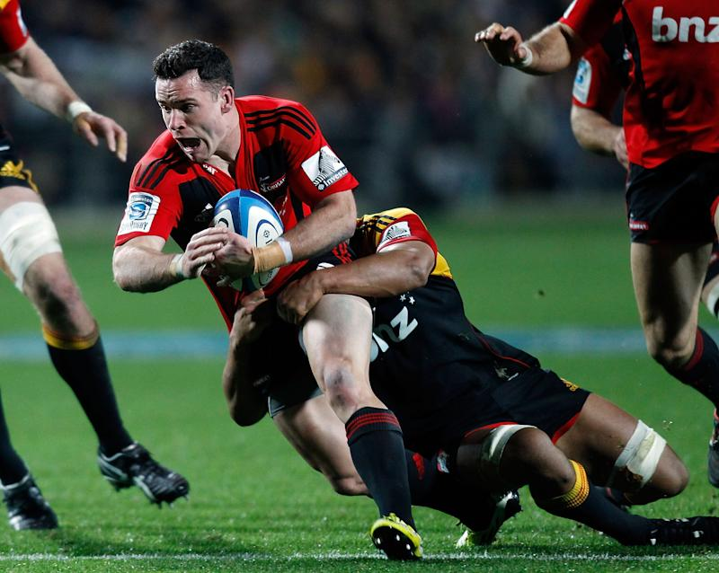 Rugby union - Crotty in as All Blacks change three to face Wallabies
