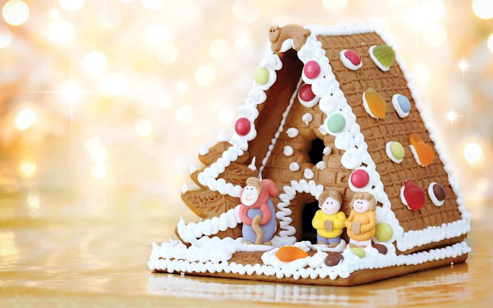 The classic gingerbread house – if you can't face baking your own, you can buy them in kit form - Beata Becla