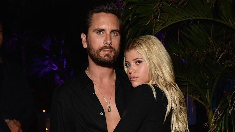 Sofia Richie Steps Out for Dinner While Scott Disick Parties With Ex Kourtney Kardashian