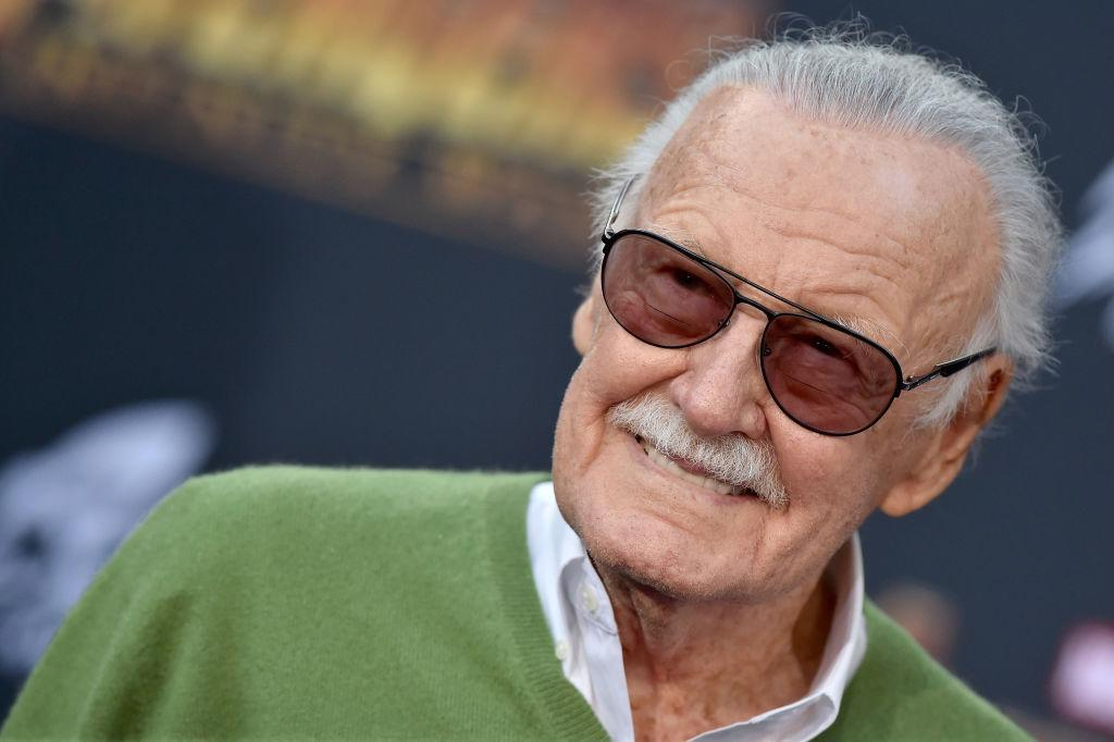 Stan Lee at the premiere of <em>Avengers: Infinity War</em> on April 23 in Hollywood. (Photo: Axelle/Bauer-Griffin/FilmMagic)