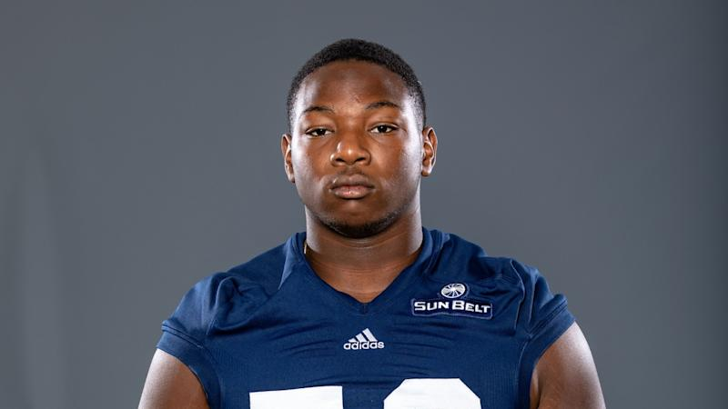 Jordan Wiggins has died at 18 years old. (Courtesy/Georgia Southern)