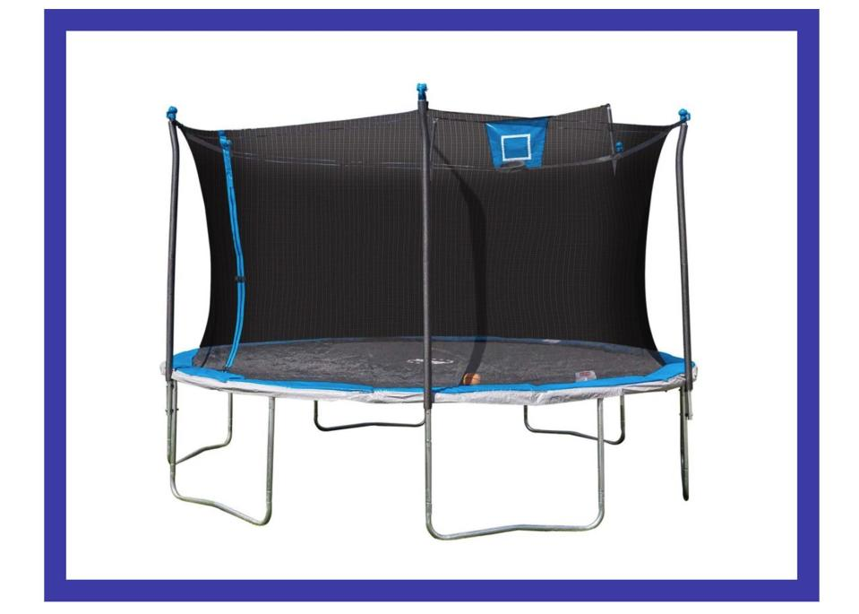 There's a basketball hoop in there! (Photo: Walmart)