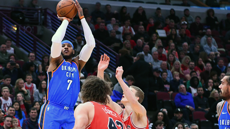 Carmelo Anthony: 'I was going to Chicago' in 2014, but then 'I started getting whispers behind the scenes'