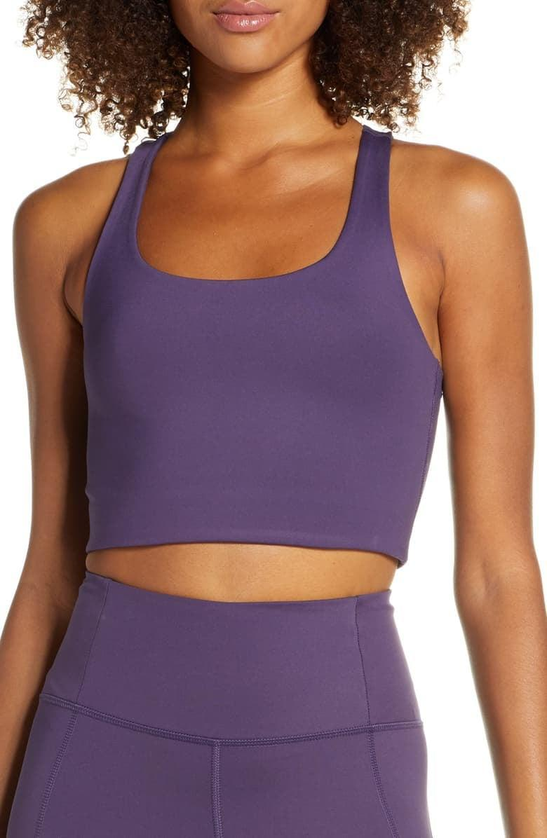 <p>Get this <span>Girlfriend Collective Paloma Sports Bra</span> ($38) for your friend who loves to work out.</p>