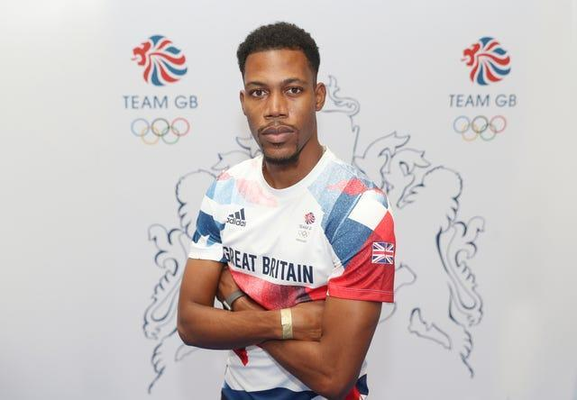 Zharnel Hughes will have a place in the 100m final in his sights