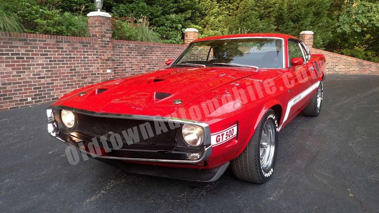 This 1970 Ford Mustang Mach 1 Shelby GT500 Is A Baby
