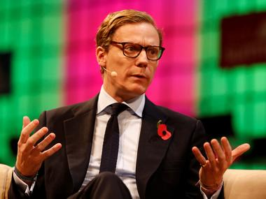 CEO of Cambridge Analytica, Alexander Nix. Image: Reuters