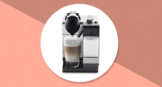 Nespresso by De'Longhi Lattissima Plus Espresso and Cappuccino Machine. (Photo: Amazon/Yahoo Lifestyle)