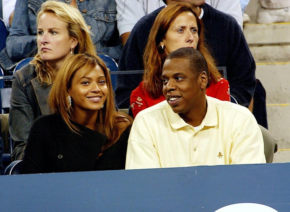 Beyonce and Jay-Z in 2003