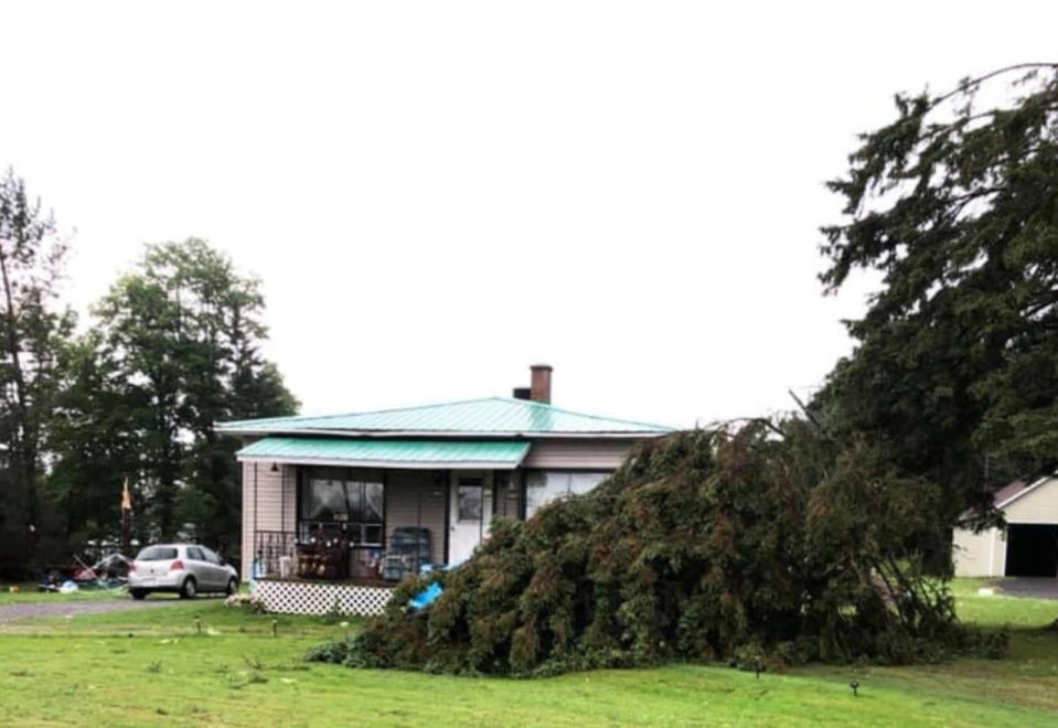 First of three Quebec tornadoes rated EF-0, significant damage produced