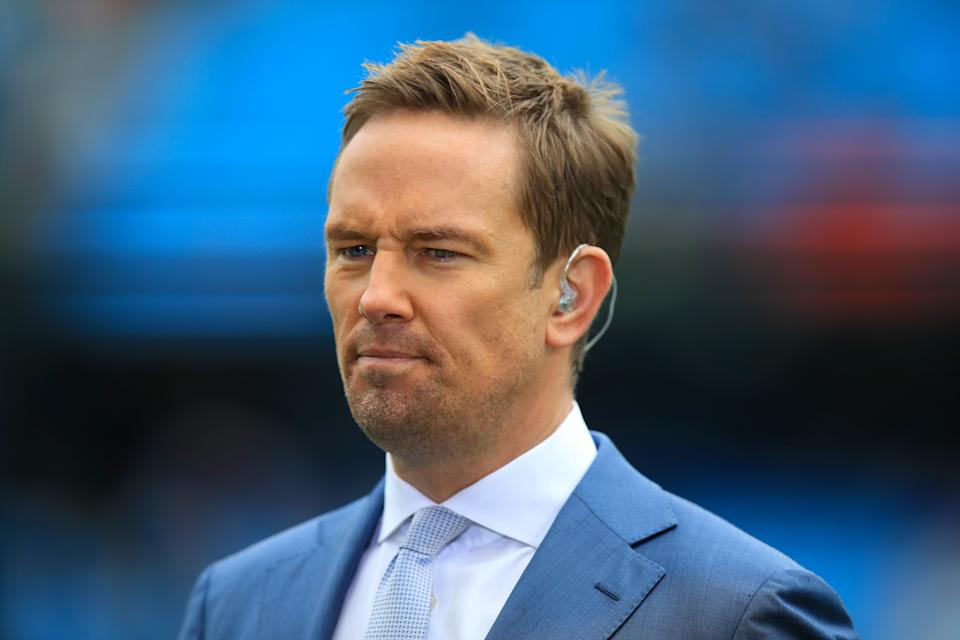 Simon Thomas has married Derrina Jebb. (Photo by Mike Egerton/PA Images via Getty Images)
