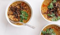 "<a href=""https://www.bonappetit.com/recipe/turkey-congee-with-crispy-shiitake-mushrooms?mbid=synd_yahoo_rss"" rel=""nofollow noopener"" target=""_blank"" data-ylk=""slk:See recipe."" class=""link rapid-noclick-resp"">See recipe.</a>"