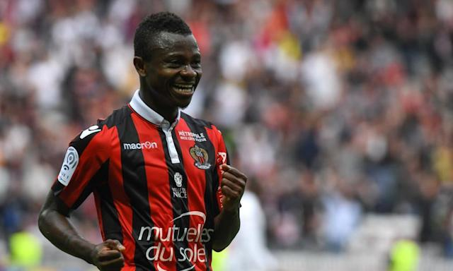 """<span class=""""element-image__caption"""">Jean Michaël Seri has only two years left of his contract remaining at Nice.</span> <span class=""""element-image__credit"""">Photograph: Yann Coatsaliou/AFP/Getty Images</span>"""