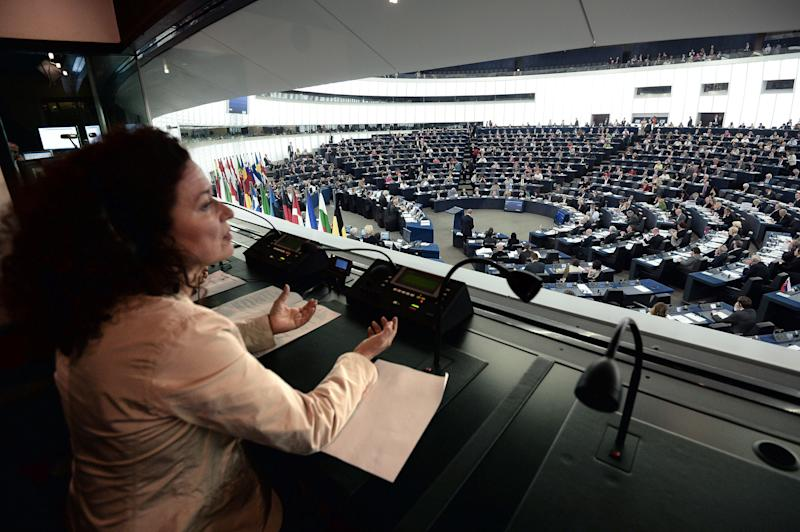 One of the European Parliament interpreters who are spending longer in their booths More
