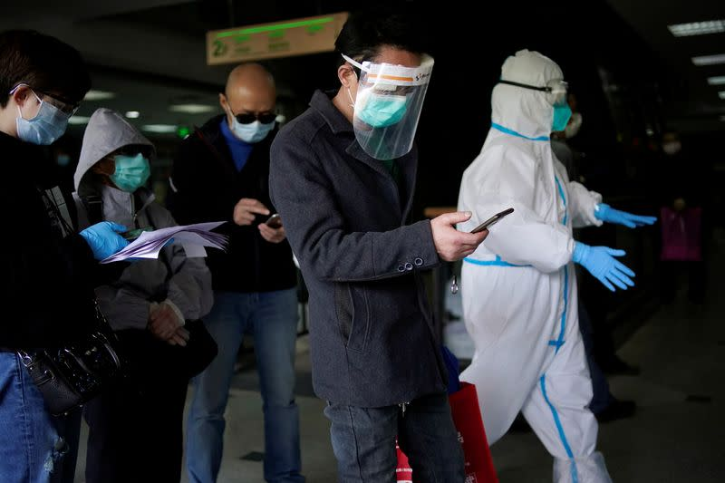 China says all coronavirus patients in Wuhan have now been discharged