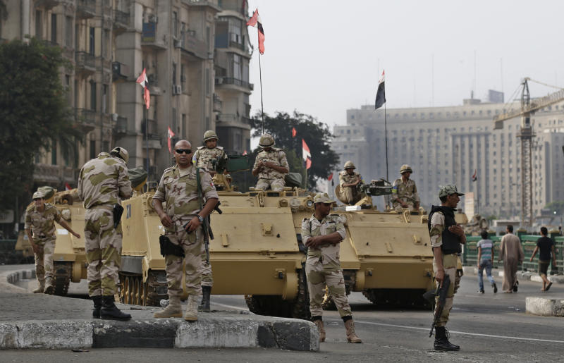 EU ministers to discuss response to Egypt violence