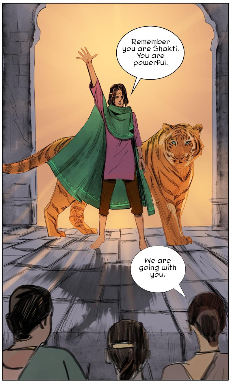A panel from Priya and The Lost Girls (Photo: Publishers)