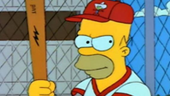 Say hello to baseball's new Hall of Famer, Homer Simpson. (The Simpsons)