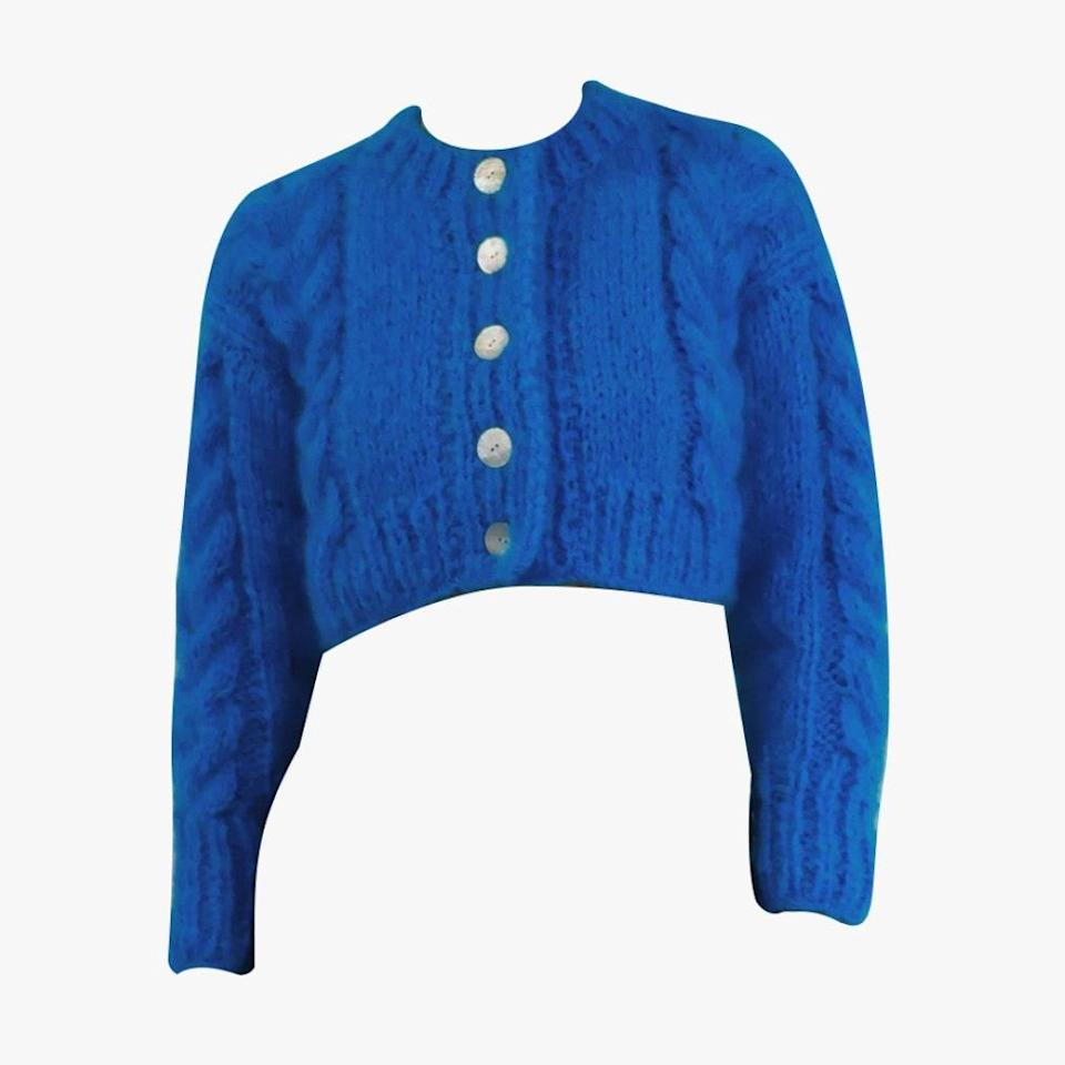 """$680, FRISSON KNITS. <a href=""""https://frissonknits.com/collections/ready-now/products/francesca-bermuda"""" rel=""""nofollow noopener"""" target=""""_blank"""" data-ylk=""""slk:Get it now!"""" class=""""link rapid-noclick-resp"""">Get it now!</a>"""