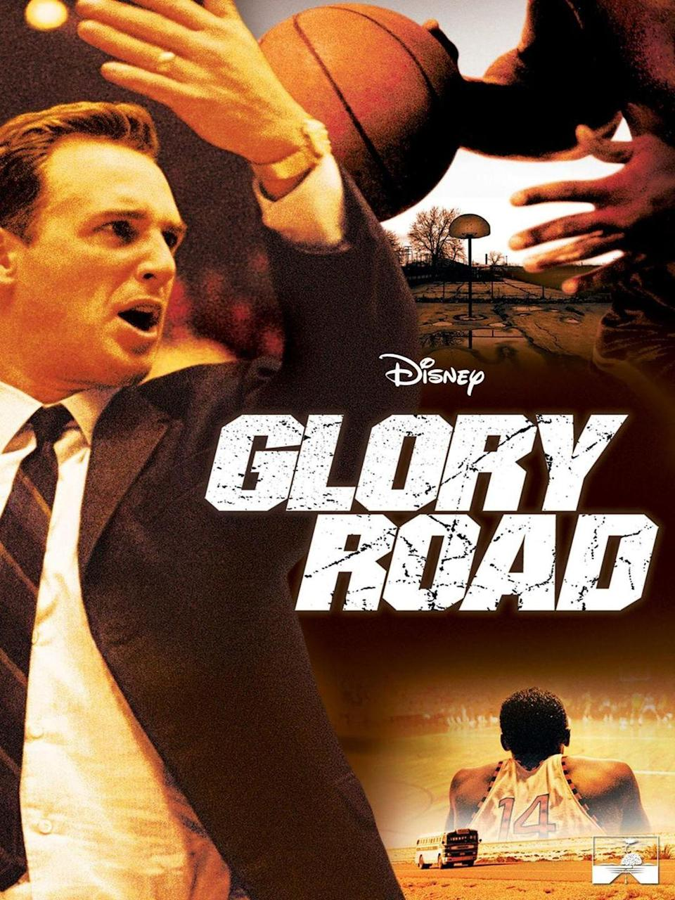 "<p><a class=""link rapid-noclick-resp"" href=""https://go.redirectingat.com?id=74968X1596630&url=https%3A%2F%2Fwww.disneyplus.com%2Fmovies%2Fglory-road%2F33N7pEEGffQ7&sref=https%3A%2F%2Fwww.womansday.com%2Flife%2Fentertainment%2Fg32745225%2Fmovies-about-race-racism-kids%2F"" rel=""nofollow noopener"" target=""_blank"" data-ylk=""slk:STREAM NOW"">STREAM NOW</a></p><p>This sports flick is based on the events of the 1966 NCAA University Division Basketball Championship, telling the story of a white college basketball coach who introduced the first all-Black starting lineup in NCAA history. As well as dealing with racial tension within his team, Don Haskins also faces criticism from those who aren't ready to see Black athletes dominate the court, and the movie follows Haskins' journey to silence those critics. </p>"