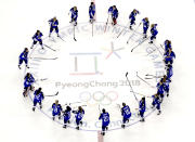 <p>United States hockey team celebrates with their gold medals after beating Canada in the Women's Gold Medal Game at the PyeongChang 2018 Winter Olympics in South Korea, Feb. 22, 2018.<br> (AP Photo/Matt Slocum) </p>