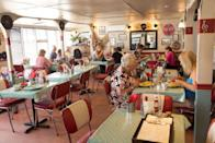 """<p>Richmond, VA, residents can't leave their diner tab to luck thanks to a law that makes it <a href=""""https://www.virginiadefenseattorney.com/blog/virginia-is-for-lovers-and-weird-laws/"""" rel=""""nofollow noopener"""" target=""""_blank"""" data-ylk=""""slk:illegal to flip a coin to see who pays for coffee"""" class=""""link rapid-noclick-resp"""">illegal to flip a coin to see who pays for coffee</a>.</p>"""