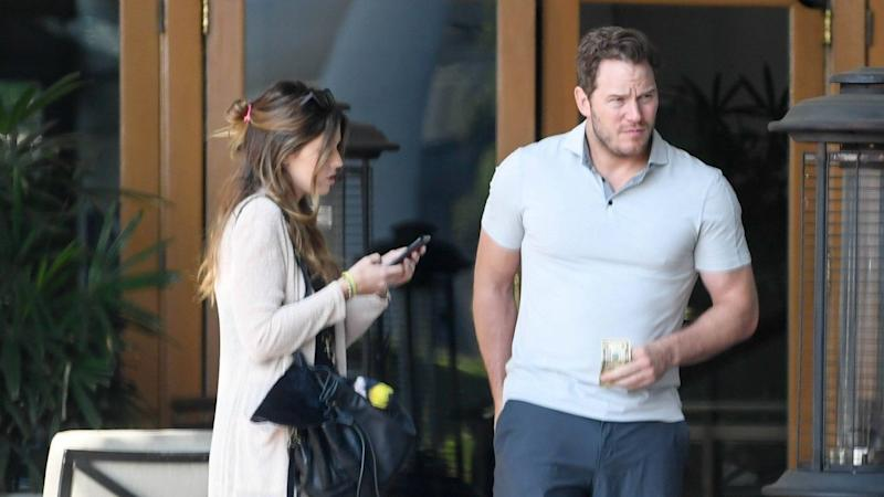 The couple enjoyed a double date with the 'Terminator' star and his girlfriend.