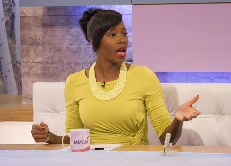"Plus-size fashion isn't the only hot topic that has landed Jamelia in hot water, though, after she was criticised for comments she made about women who choose to become mothers later in life.<br /><br />One such critic was Tina Malone, who had a baby via IVF at 50 years old, who said she was ""furious"" with Jamelia, tweeting that at her age: ""I am fitter, look better, have more energy, can cook, work, clean, and go [all night]... and I have a 32-year-old!! And Jamelia, I am wiser!!!""<br /><br />It was later reported the Superstar singer had been dropped from the show as a result of the controversy."