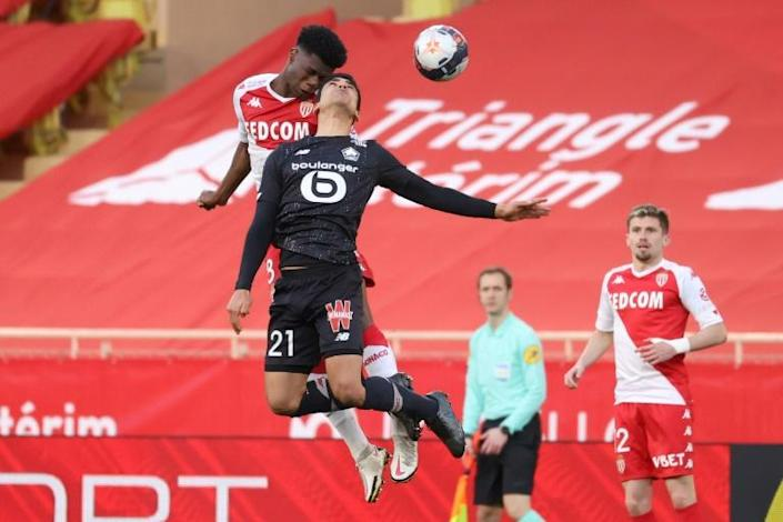Monaco and Lille tussled but couldn't find a way to break the deadlock