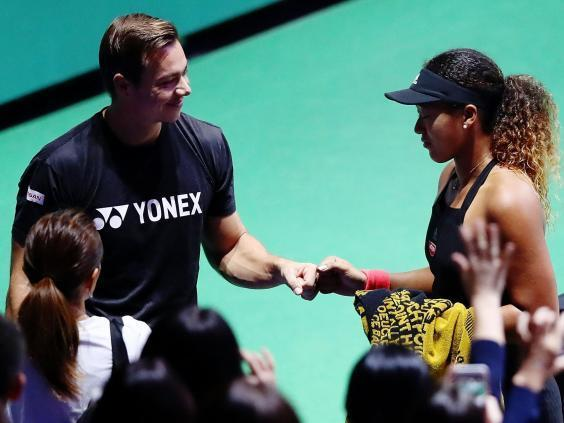 Sascha Bajin had been working with Osaka for 13 months (Getty Images)
