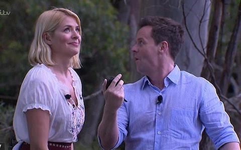 Holly Willoughby and Declan Donnelly hosting I'm A Celebrity - Credit: ITV