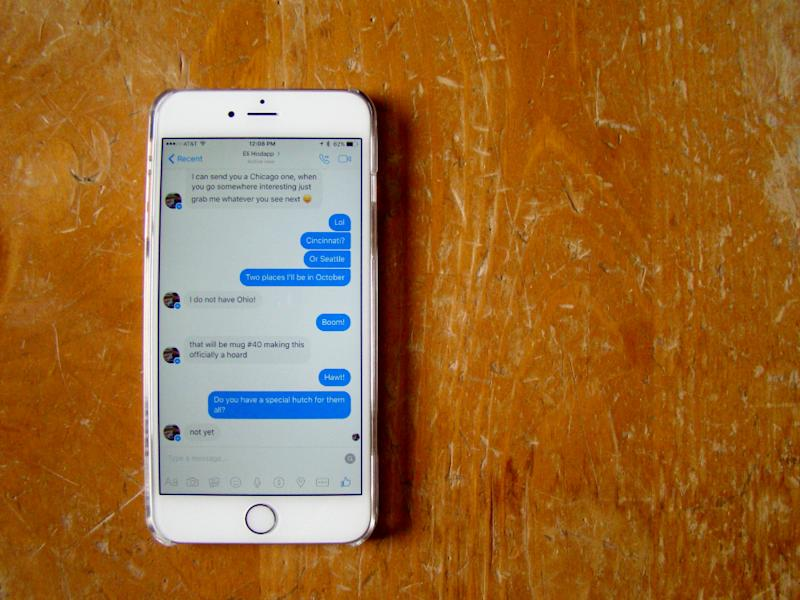 how to make your facebook messenger private